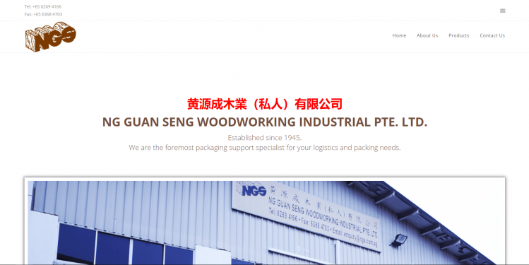Ng Guan Seng Woodworking Industrial Pte. Ltd.